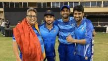 Manish Pandey flies to Mumbai for marriage after T20 glory