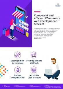 Competent and efficient ECommerce web development services
