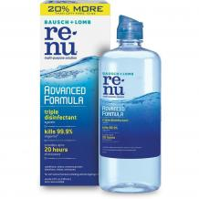 Bausch and Lomb Renu advanced formula