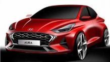 Here's how the Hyundai Aura will look like