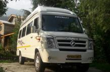tempo traveller booking in Delhi NCR for local sightseeing