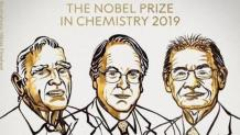 Nobel Prize in Chemistry awarded to scientists behind lithium-ion batteries