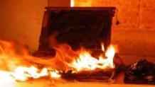Ghaziabad: Laptop in sleep mode starts fire in flat