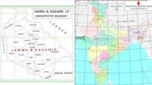 New map of India released; Ladakh, J&K boundaries updated