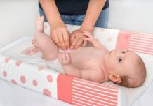 Changing pad covers protecting the investment