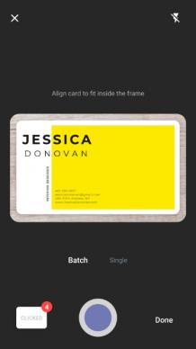 Best Business Card Reader App | Free Business card scanner app | Visiting card scanner