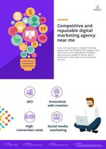 Competitive and trustworthy digital marketing agency