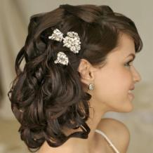 Bridal Hair Style According to Face Shape