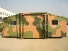 Expandable Shelter, Flexible Expandable Shelter Solutions   KF Mobile Systems
