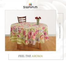 Dine With Elegance and Modernized Printed Table Cloth - swayamindia's blog
