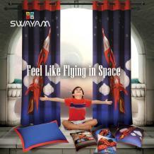 Buy Eyelet Kids Curtains Online to Give Playful Engaging Appearance- SwayamIndia