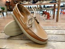 Henri - Men's Leather Boat Shoe By Barker