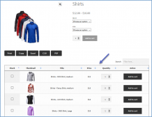 WooCommerce Product Variations Table Plugin
