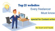 Top 21freelance Websites To Get Work In 2021 ! Prolancerr