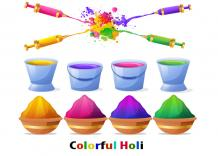 Strange Facts About Holi Colors & Its Different Types - Indian Festivals