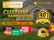 personalized yard signs | 219signs