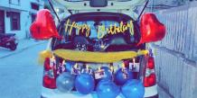 Car Theme Birthday Decoration in Pune | Car Surprise at Home