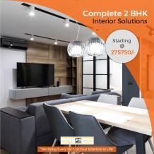 2 BHk Interior Design Bangalore