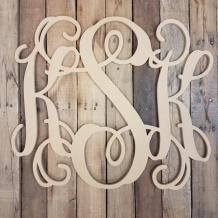 Monogram Wall Decor, Wooden Monogram Letters, Monogram Ideas