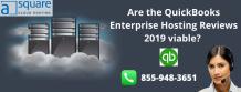 Are the QuickBooks Enterprise Hosting Reviews 2019 viable? – Cloud Hosting Services