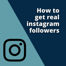How to get followers on instagram? - Discreet Vision Blog