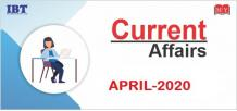 Monthly Current Affairs – April 2020 | MakeMyExam