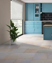 Royal Beige Antique Sandstone Floor Tiles   The Stone Flooring