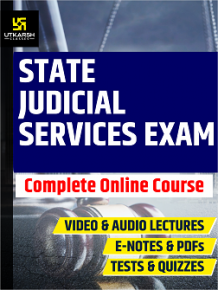 Buy State Judicial Services Exam Online Course | Best State Judicial Services Exam Coaching in India | Utkarsh