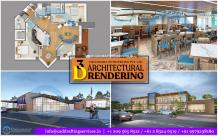 3D Architectural Rendering | 3D Visualization Services - Chudasama Outsourcing