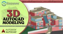 Architectural 3D CAD Modeling Services