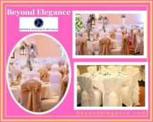 Rent Tablecloths and Chair Covers