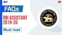 RBI Assistant Exam 2020 FAQs