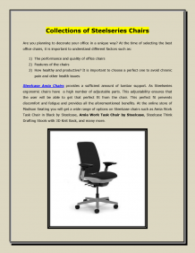 Collections of Steelseries Chairs