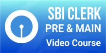 DOWNLOAD SBI CLERK PREPARATION VIDEO COURSE ONLINE
