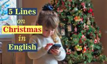5 Lines on Christmas in English For Your Children - Indian Festivals