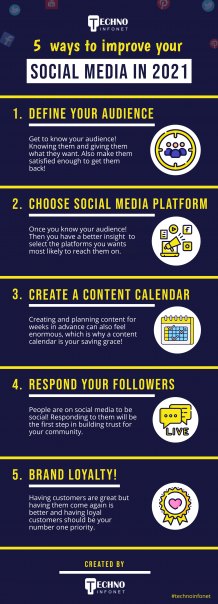 5ways to improve your Social Media in 2021