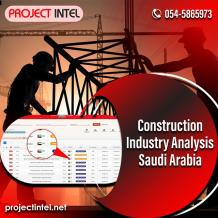 The Right Portal to Analyse Construction Industry In Saudi Arabia