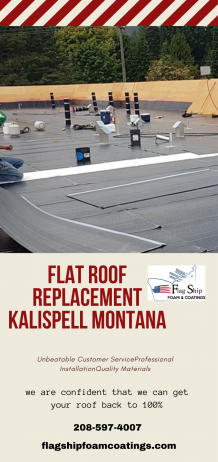 Flat Roof Replacement Kalispell Montana