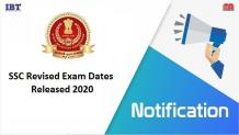 SSC Exams New Dates Released | Download Official Notice SSC Exam 2020