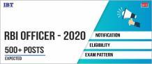 RBI Grade B 2020,  RBI Officer latest information, Exam Pattern, Syllabus, Salary