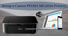 How to Setup a Canon PIXMA MG3620 Printer to Wi-Fi