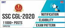 SSC CGL 2020 Notification