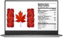A User-Friendly Software Application to Make Food Labels in Canada