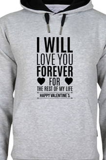 Enjoy Chilling Winter Out There While Wrapping the Body Beneath a Printed Hoody… - Printland