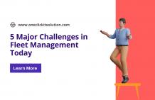 5 Biggest Challenges in Fleet Management Today