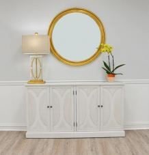 Lillian Home — Why Not Fall in Love with Cicinia White Cabinet?