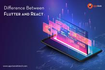 Difference Between Flutter and React