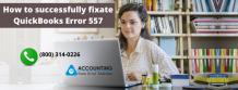 Pragmatically counter QuickBooks Error 557
