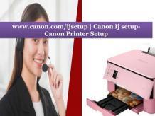 www.canon.com/ijsetup | Canon Ij setup- Canon Printer Setup