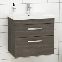Styling Your Bathroom with Grey Wall Hung Vanity Unit - RoyalBathrooms